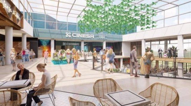 El centre comercial La Farga de L'Hospitalet de Llobregat (Barcelona) inicia les obres de reforma