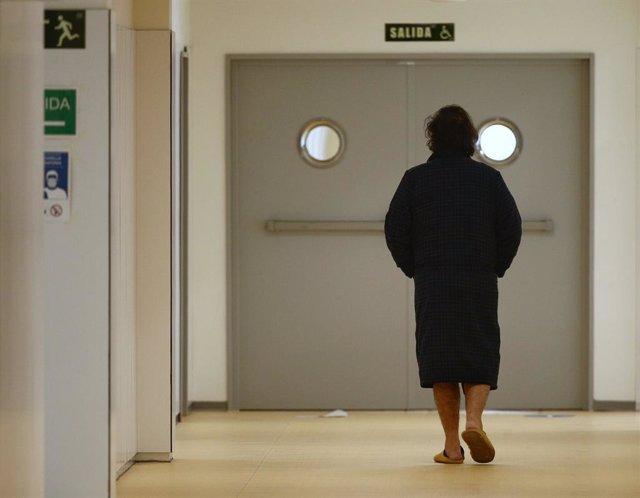 Passadís d'un hospital (Arxiu)