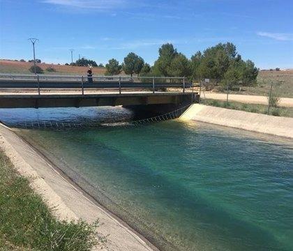 La finalización de las obras del embalse de La Bujeda (Guadalajara) se retrasará unas tres semanas por 'Filomena'
