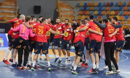 Balonmano/Selección.- España derrota a Noruega (31-26) y se mete en semifinales del Mundial de Egipto