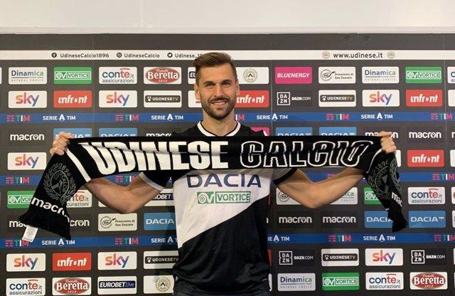 Fernando Llorente, nuevo jugador del Udinese