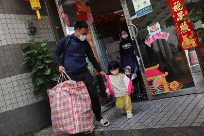 China baja hasta los 82 casos de coronavirus, 28 de ellos sin síntomas