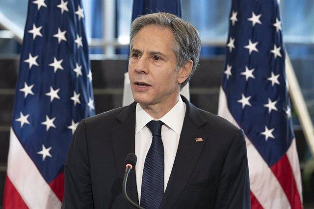 El secretari d'estat dels Estats Units, Antony Blinken.