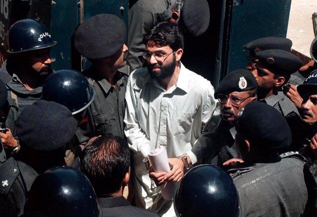 Ahmed Omar Said Sheij, principal acusado de la decapitación del periodista estadounidense Daniel Pearl en 2002 en Pakistán
