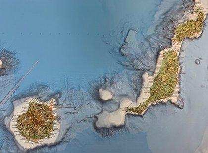 El IGN publica el mapa de Canarias en relieve con una alta calidad plástica y cartográfica