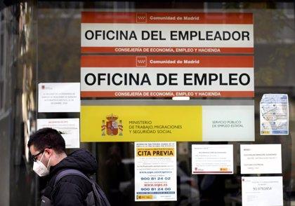 El paro en la Comunidad sube 36,24% en 2020, con 127.700 desempleados más, y se destruyen 107.100 empleos