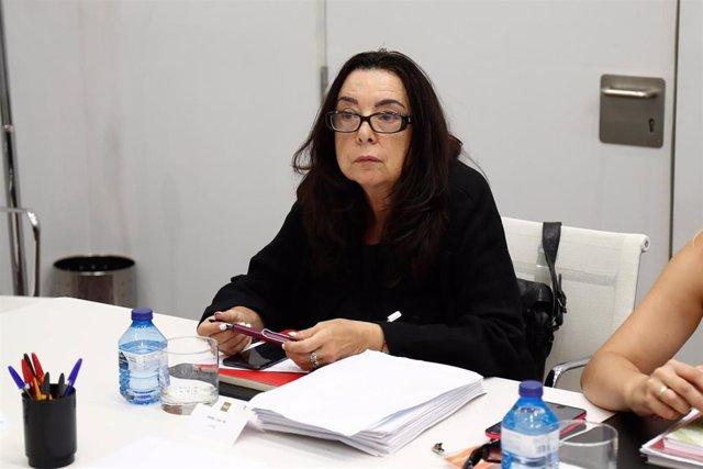 Imagen de archivo de la secretaria general de la Federación de Enseñanza de CCOO de Madrid, Isabel Galvín.