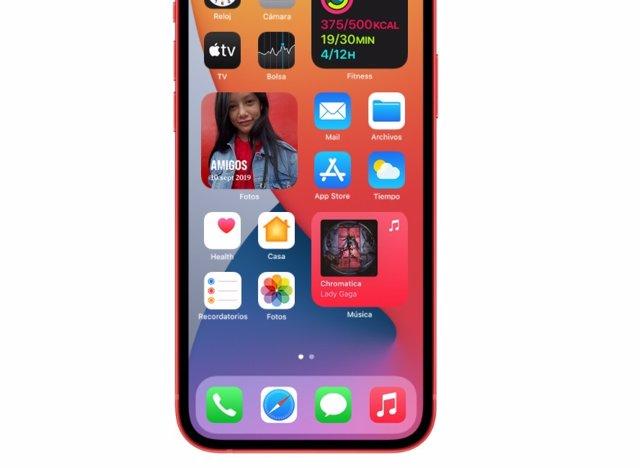 Aplicaciones en iPhone 12