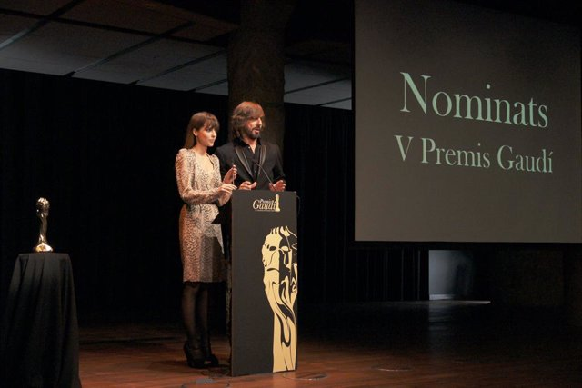 Santi Millán i Leticia Dolera presenten els V Premis Gaudí