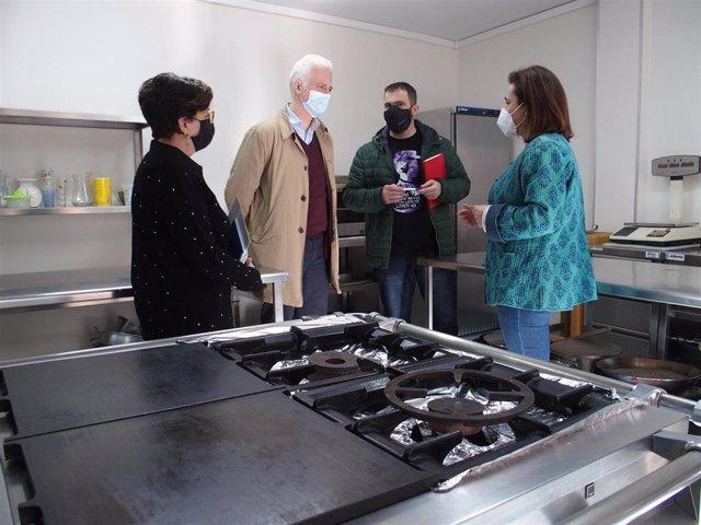 Visita al Centro Social Casco Antiguo