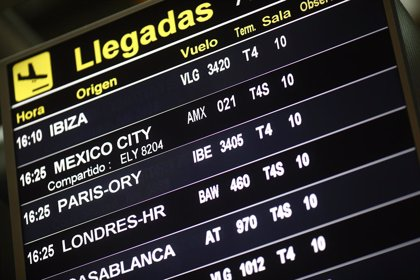 Eurocontrol estima que el tráfico aéreo europeo caerá un 64% en enero y advierte de que la situación podría empeorar