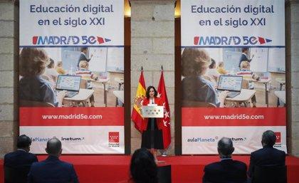 La Comunidad presenta una nueva plataforma educativa con más de 300.000 contenidos bilingües de asignaturas troncales
