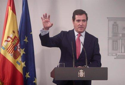 """CEOE pide """"intensificar"""" las medidas para minimizar el impacto de la crisis en las empresas"""