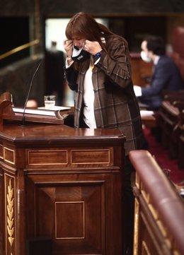 La candidata de JxCat a la Generalitat, Laura Borràs.