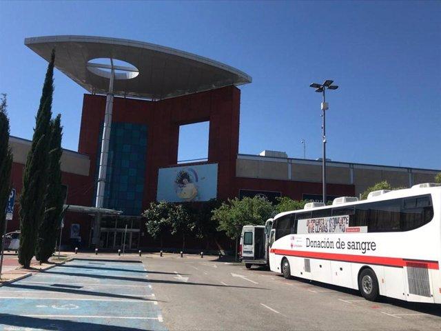 Jornada de donación de sangre de Cruz Roja en intu Xanadú
