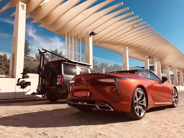 Foto Fija Lexus LC500 rodado en Málaga en 2020