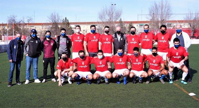 Renfe patrocina a 'La Ferro', club centenario del fútbol madrileño apadrinado por Del Bosque.