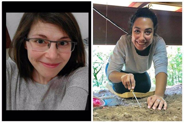 Estudiantes galardonadas con el Premio Joven de Investigación en Conservación y Restauración