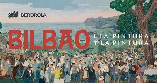 Cartel de la Exposición Bilbao y la pintura en el Guggenheim