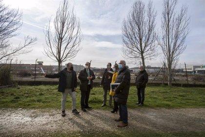 Pamplona estudia fórmulas para que el terreno de Berrioplano junto al solar de la antigua Bosch sea urbanizado