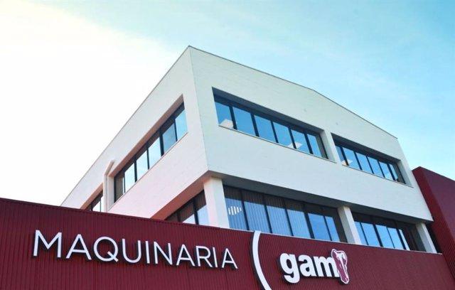 Sede de General de Alquiler y Maquinaria (GAM) en Asturias
