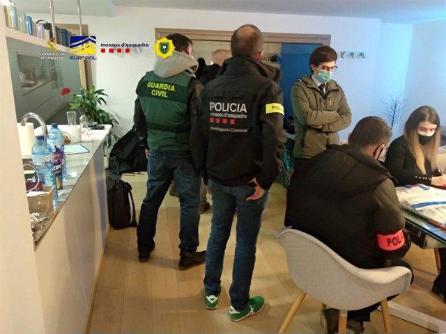 Sis detinguts a Andorra per un presumpte frau internacional en 'trading'