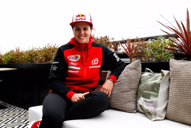 Laia Sanz tras el Dakar 2021
