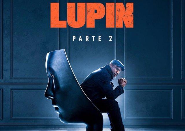 Cartel de la temporada 2 de Lupin en Netflix