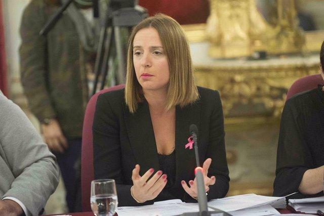 Ana Carrera, diputada de Empleo y vicepresidenta del IEDT de la Diputación de Cádiz