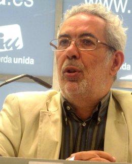 Imagen de recurso del precandidato del sector crítico a la Asamblea Federal de IU, José Antonio García Rubio.