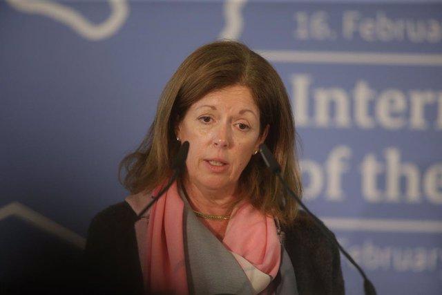 La enviada especial interina de la ONU en Libia, Stephanie Williams.