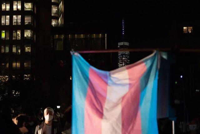 Bandera transgénero