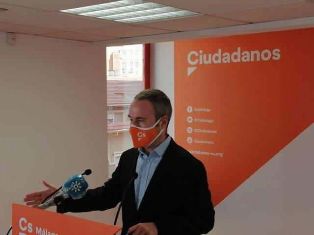 Guillermo Díaz, coordinador de Ciudadanos Málaga