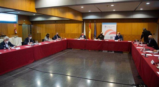 Fotos Xunta / Vicepresidente Primeiro / Emprego / Plan De Axudas Para O Sector Da Hostalería