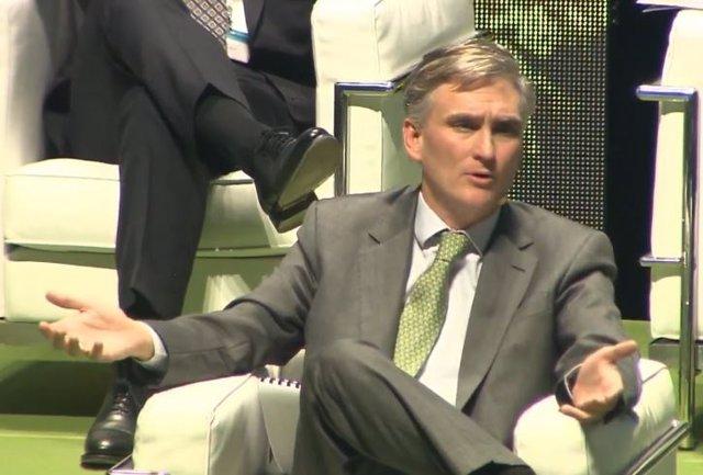 Francisco García Paramés, consejero delegado de Cobas AM, en la cuarta conferencia anual de inversores el 17 de febrero de 2020