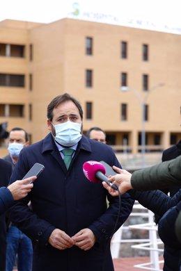 El presidente del PP de C-LM, Paco Núñez, en Talavera de la Reina