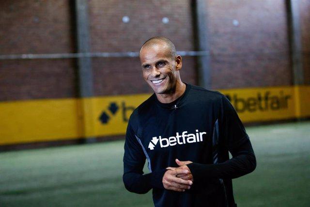 El exjugador de fútbol y embajador de Betfair Rivaldo
