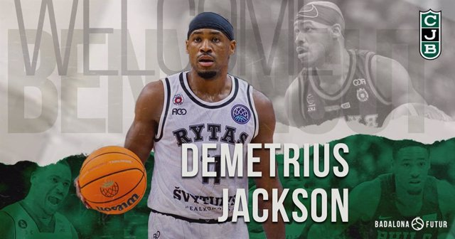 El base estadounidense Demetrius Jackson, nuevo jugador del Club Joventut Badalona hasta el final de la temporada 2020/21