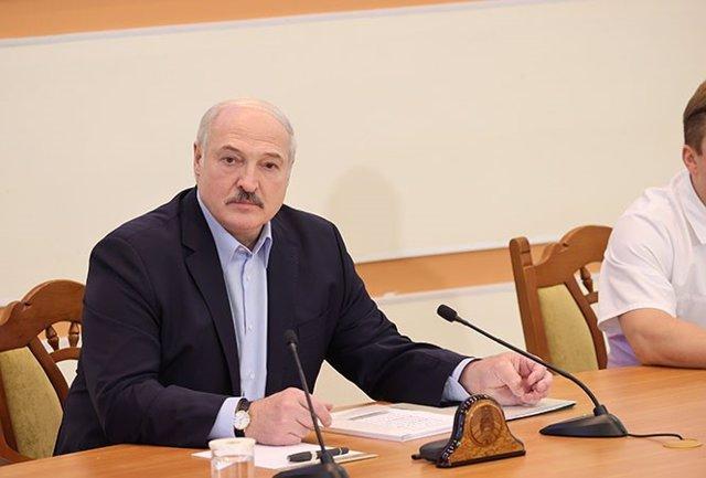Alexander Lukashenko, presidente de Bielorrusia
