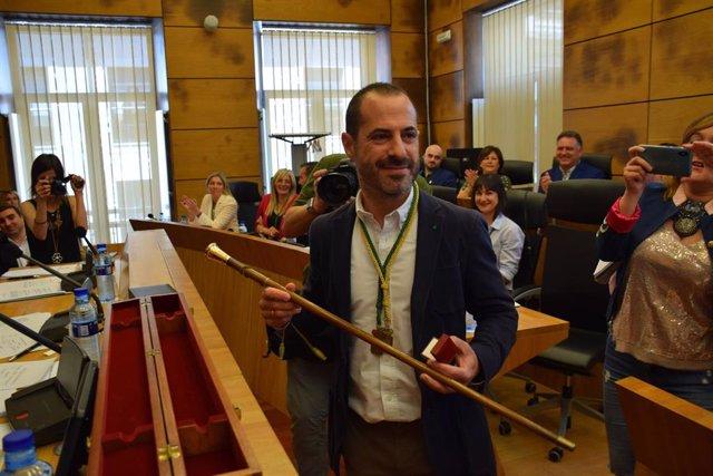 El alcalde de Siero, Ángel García, en una imagen de archivo