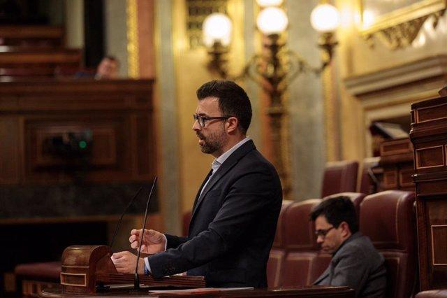 El diputado nacional de Cs, Pablo Cambronero.