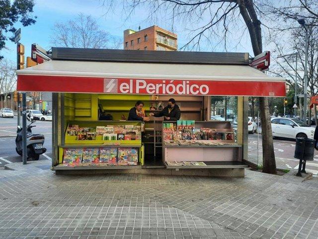 Barcelona obre un nou quiosc gestionat per persones amb diversitat funcional