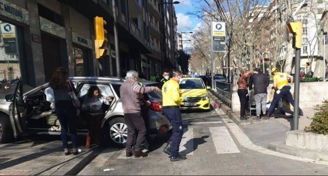 Una conductora atropella diverses persones a Reus (Tarragona)