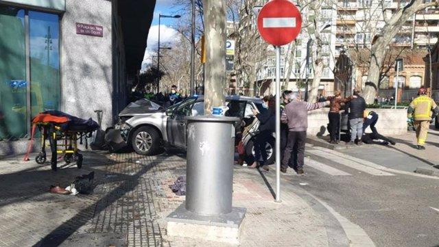 Ocho personas heridas en un atropello múltiple en Reus (Tarragona)