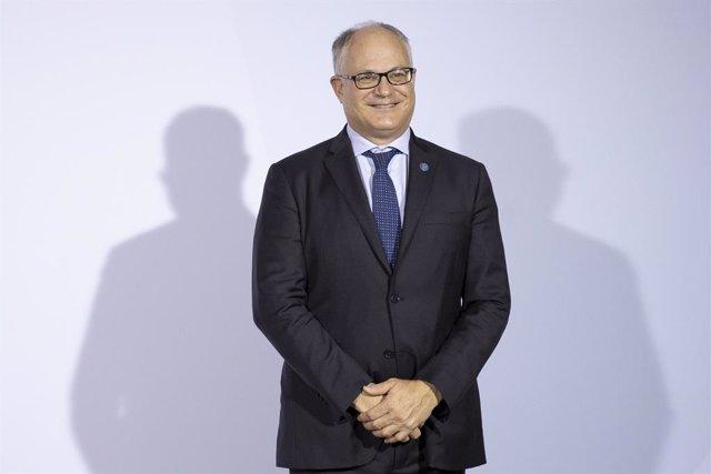 El ministro de Finanzas de Italia, Roberto Gualtieri.