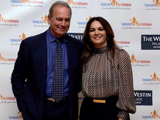 Bertín Osborne se reencuentra con Fabiola Martínez tras el anuncio de su separación