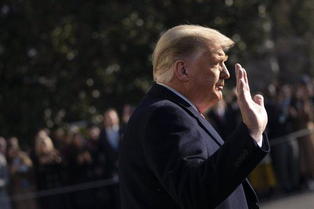 El expresidente de Estados Unidos, Donald Trump, en una imagen de archivo.