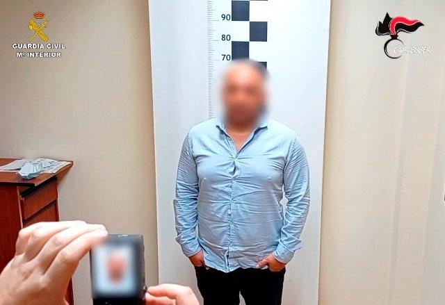 Detiene en Toledo un varón reclamado por las autoridades de Italia por tráfico de drogas a gran escala.