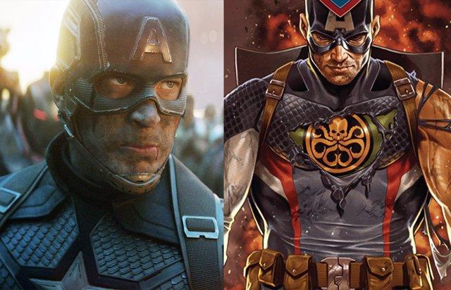 Chris Evans es Capitán América de HYDRA en Doctor Strange 2... En este brutal fan-art