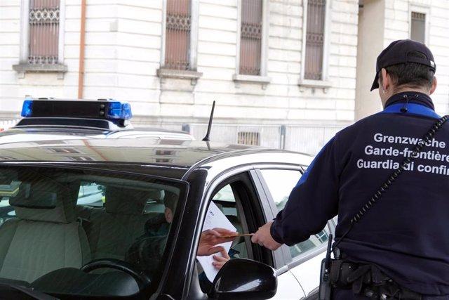 Control de fronteras en Suiza